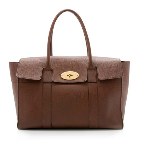 Mulberry Natural Grain Leather Bayswater Tote
