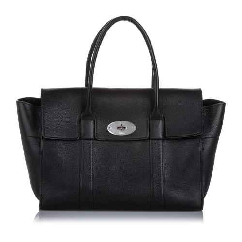 Mulberry Leather New Bayswater Satchel