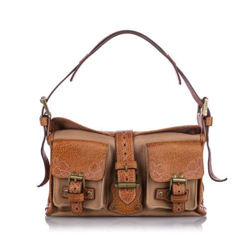 Mulberry Canvas Roxanne Shoulder Bag