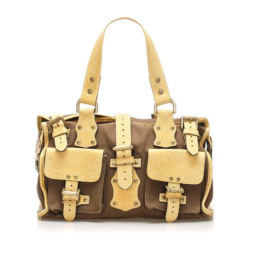 Mulberry Roxanne Canvas Shoulder Bag