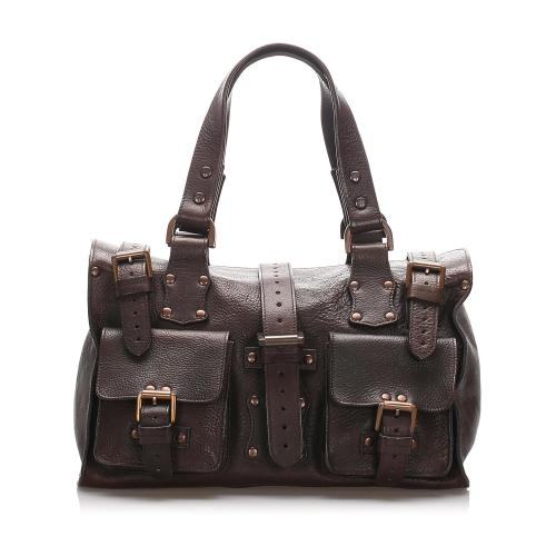 Mulberry Leather Roxanne Satchel