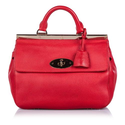 Mulberry Small Leather Suffolk Satchel