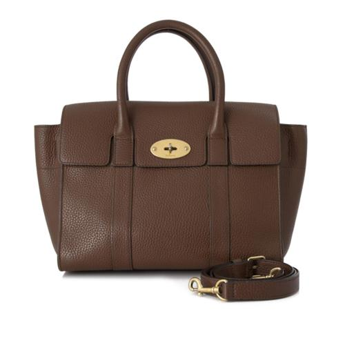 Mulberry Leather Small New Bayswater Satchel