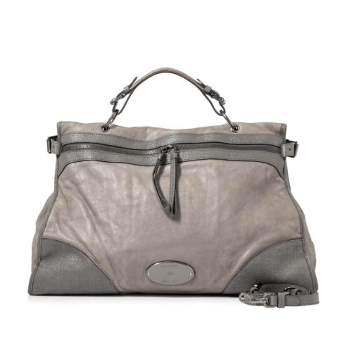 Mulberry Leather Taylor Satchel