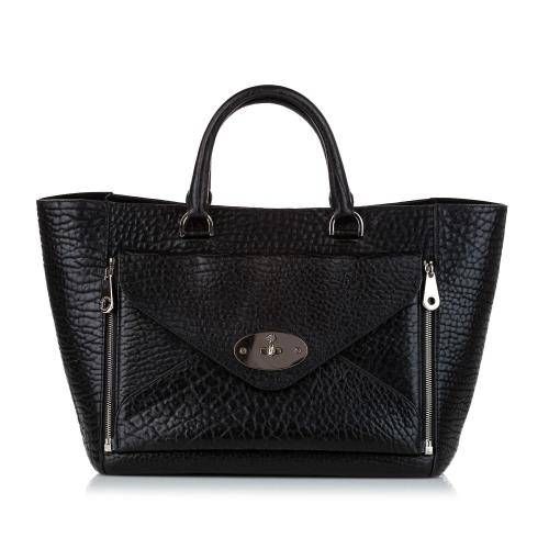 Mulberry Willow Leather Hand Bag