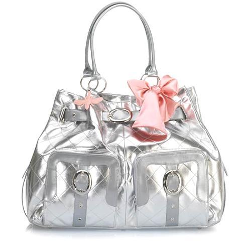 My Flat In London Ipa Nema Two Handled Slouchy Handbag