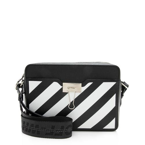 Off-White Leather Diag Belt Bag