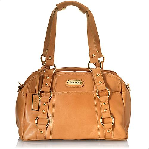Perlina Classic Satchel Handbag