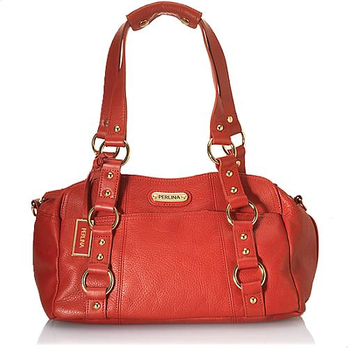 Perlina Classic Satchel Handbag