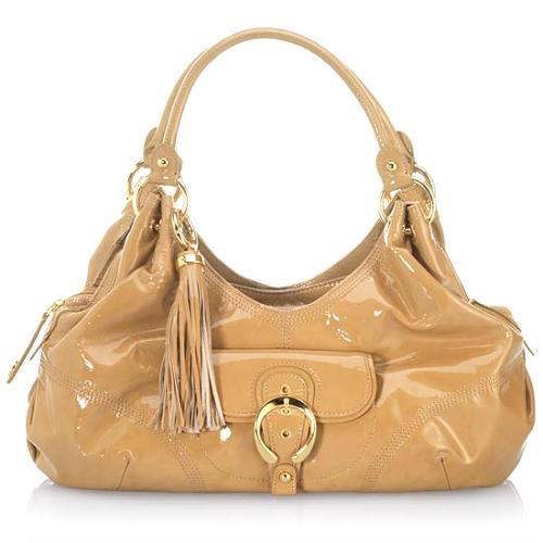 Perlina Divine Shine Satchel Handbag