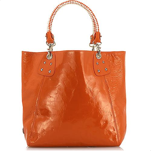 Perlina Reversible Leather Tote