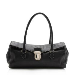 Prada Buffalo Leather Easy Satchel