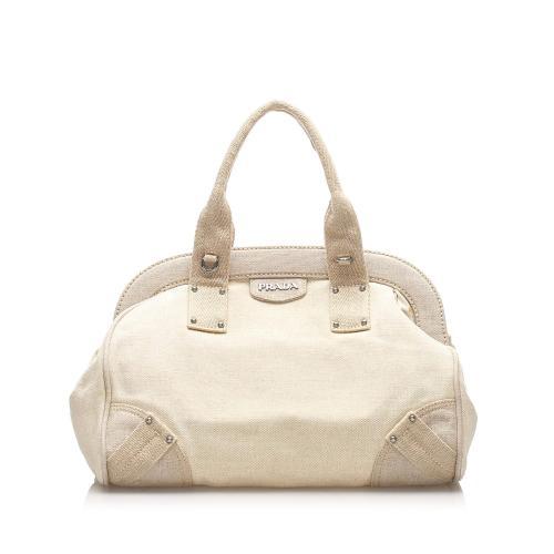 Prada Canapa Mistolino Handbag