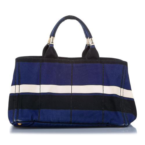 Prada Canvas Tote Bag