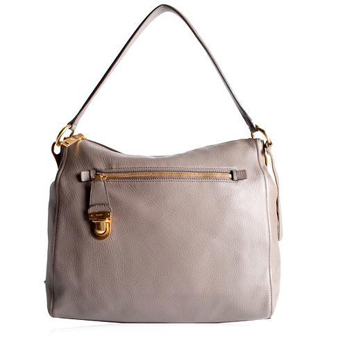 Prada Cervo Hobo Handbag