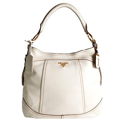 Prada Cervo Shoulder Handbag