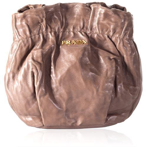 Prada Cervo Small Shoulder Handbag
