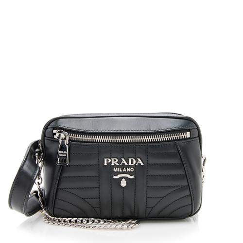 Prada Calfskin Diagramme Belt Bag
