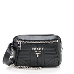Prada Calfskin Diagramme Belt Bag