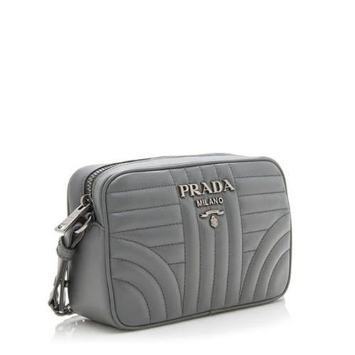 c26a5e1f8147 Prada Diagramme Calfskin Crossbody Bag