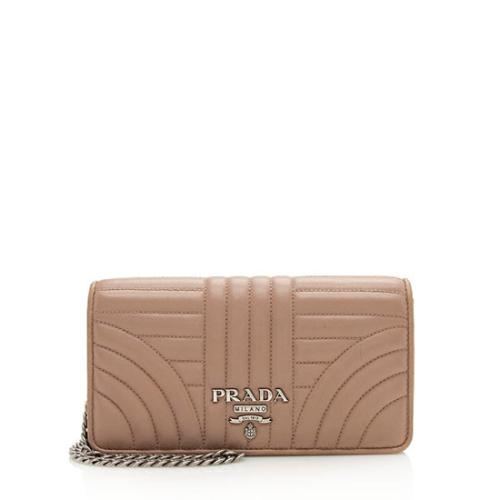 Prada Diagramme Calfskin Mini Bag
