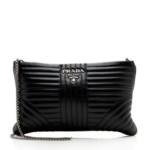 Prada Diagramme Clutch