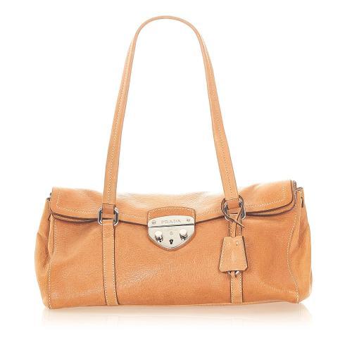 Prada Easy Leather Shoulder Bag