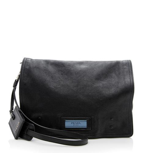 Prada Glace Calf Etiquette Shoulder Bag