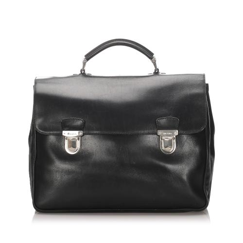 Prada Leather Briefcase