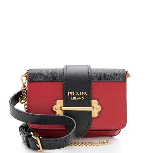 Prada Leather Cahier Belt Bag