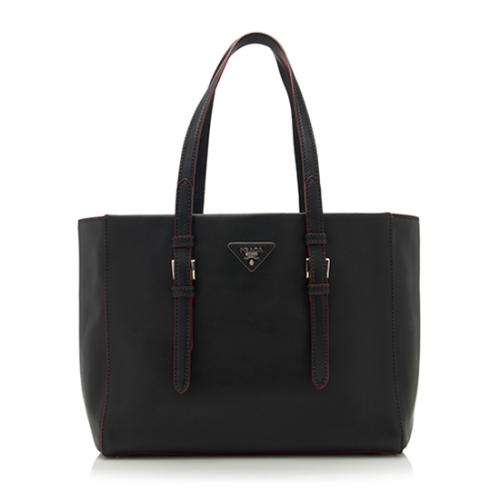 Prada Leather City Sport Shopping Tote