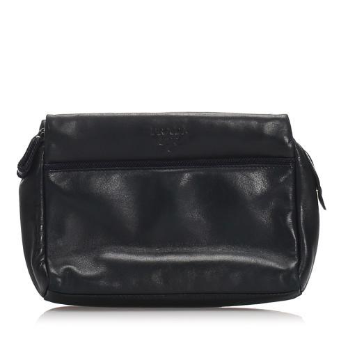 Prada Leather Clutch