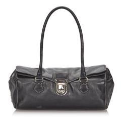 Prada Leather Easy Shoulder Bag