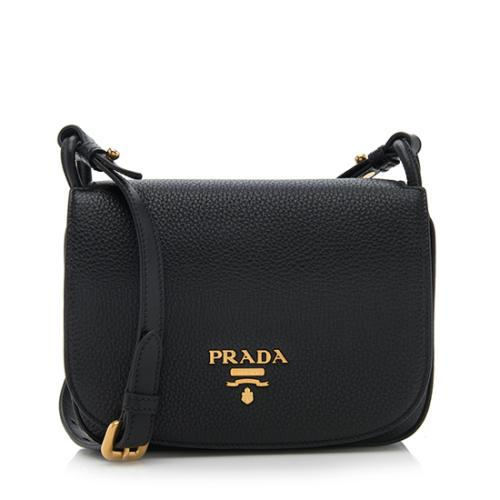Prada Leather Saddle Bag