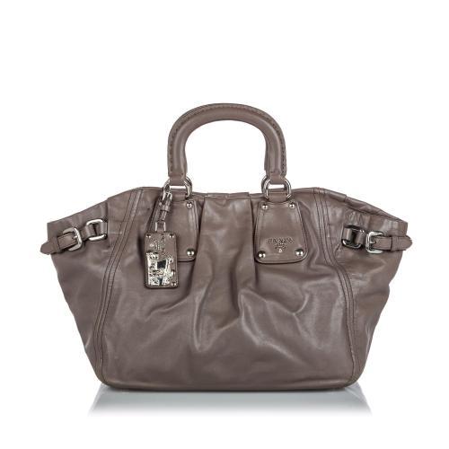Prada Nappa Leather Tote