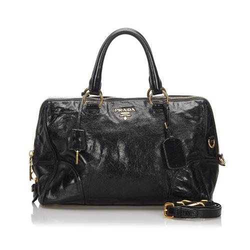 Prada Leather Convertible Satchel
