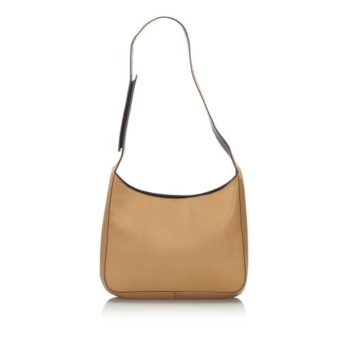 Prada Nappa Leather Shoulder Bag