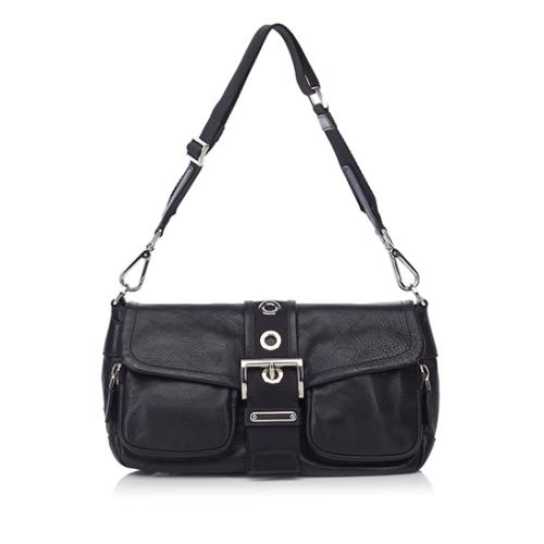 Prada Nappa Pocket Shoulder Bag