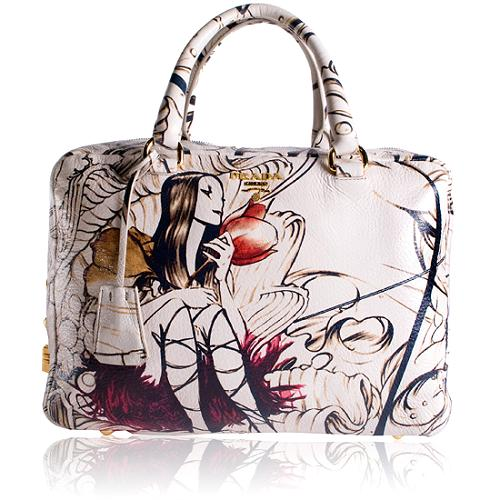 Prada Limited Edition Fairy Satchel Handbag