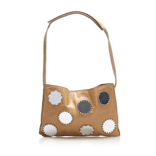 Prada Mirror Leather Shoulder Bag