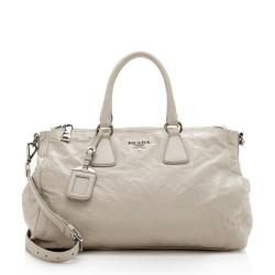 Prada Antique Nappa Leather Galleria Tote