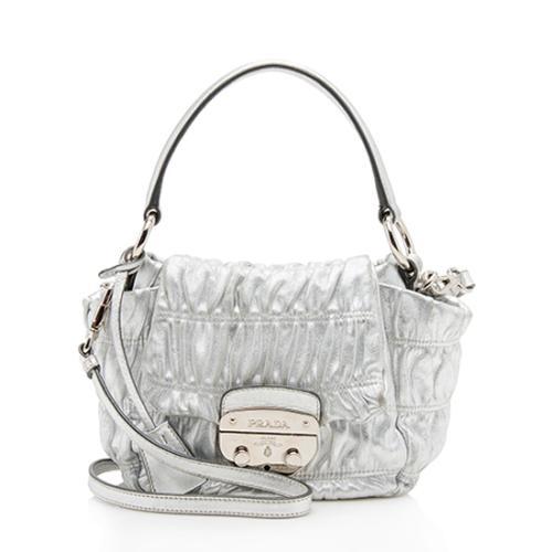 Prada Nappa Gaufre Dressy Small Shoulder Bag