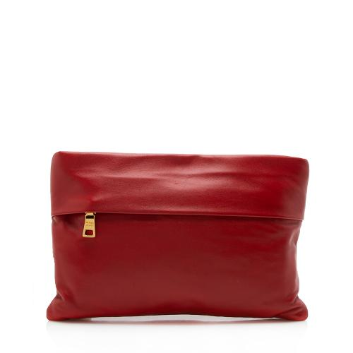 Prada Nappa Leather Clutch