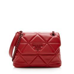 Prada Nappa Leather Spectrum Shoulder Bag