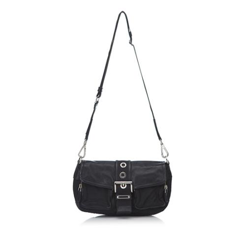 Prada Tessuto Nappa Pocket Shoulder Bag