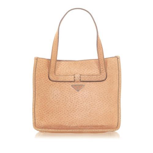 Prada Nubuck Leather Handbag