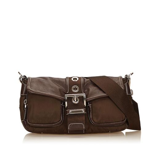 Prada Tessuto Nappa Shoulder Bag