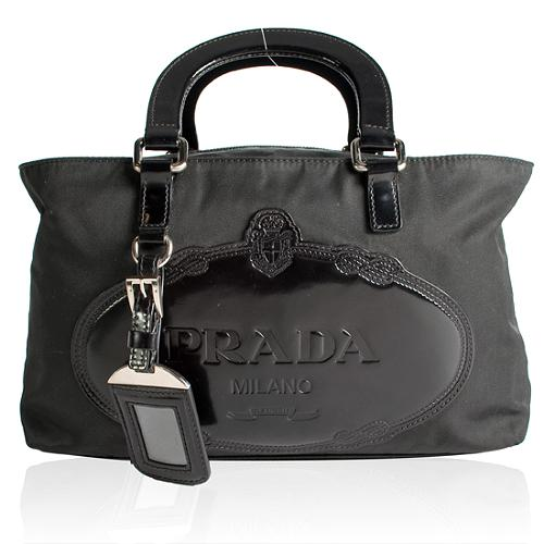 adfd867eca76 Prada-Nylon-and-Leather-Satchel-Handbag 34146 front large 1.jpg