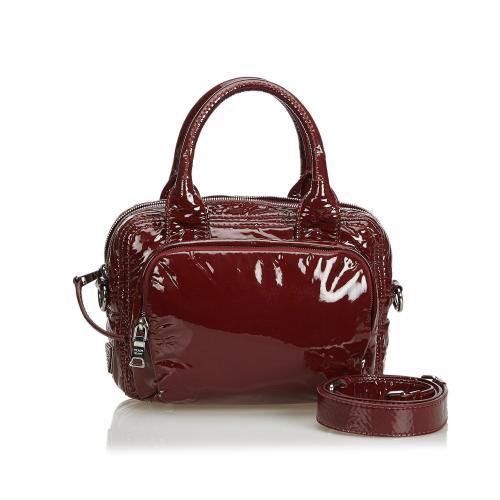 Prada Patent Leather Satchel