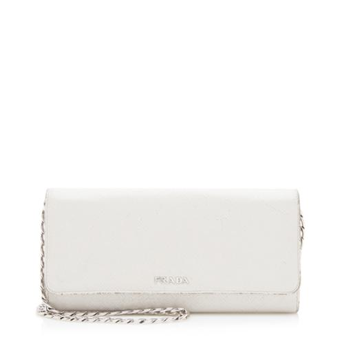 Prada Saffiano Bicolor Wallet Crossbody Bag - FINAL SALE